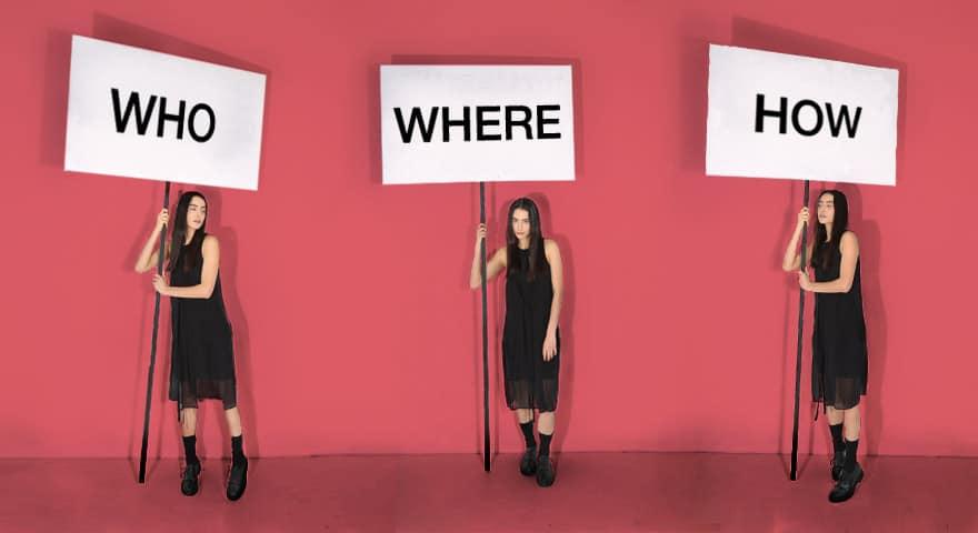 Quem, Quando, Onde? Pergunte sobre a origem de suas roupas!