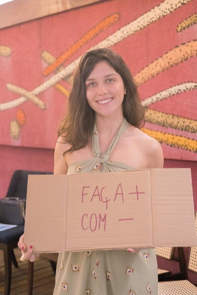 Gabriela Pedrosa, da mineira Coolringa
