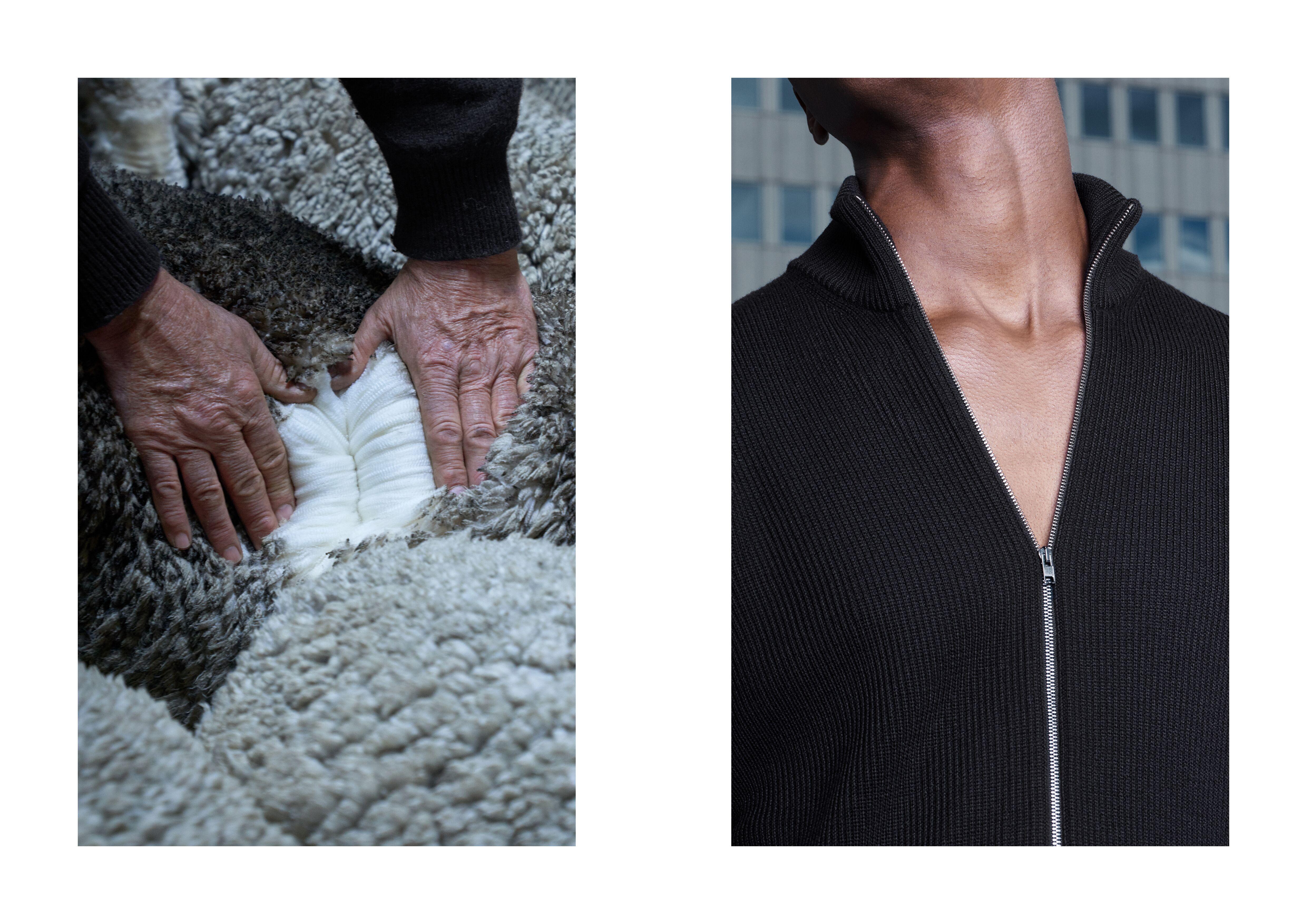 Asket, merino wool menswear
