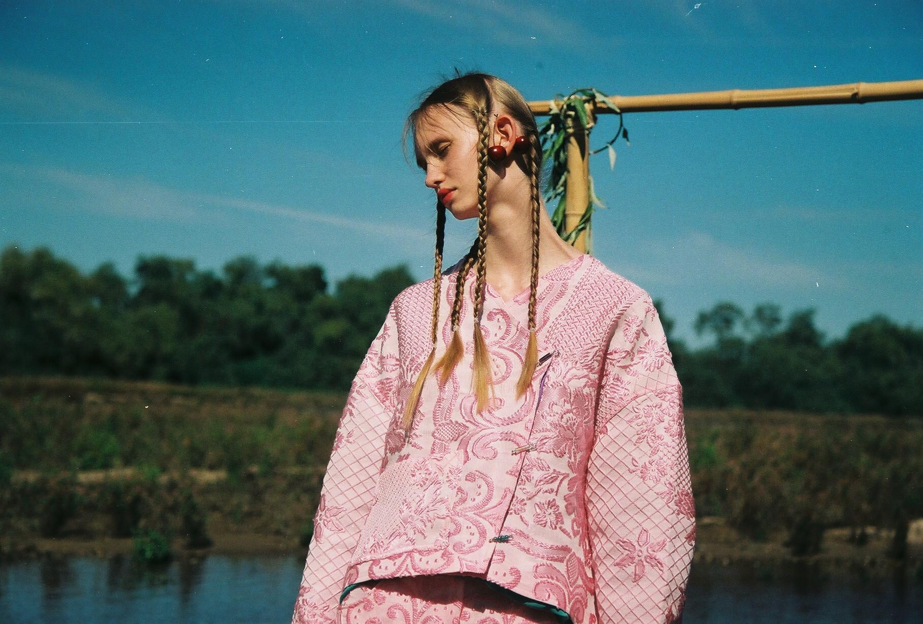 Béhen, marca de moda sustentável de Portugal, com inspiração na Índia.