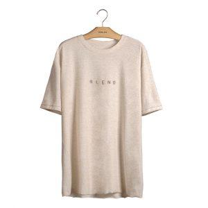 Camiseta com malha ecoblend, da Osklen