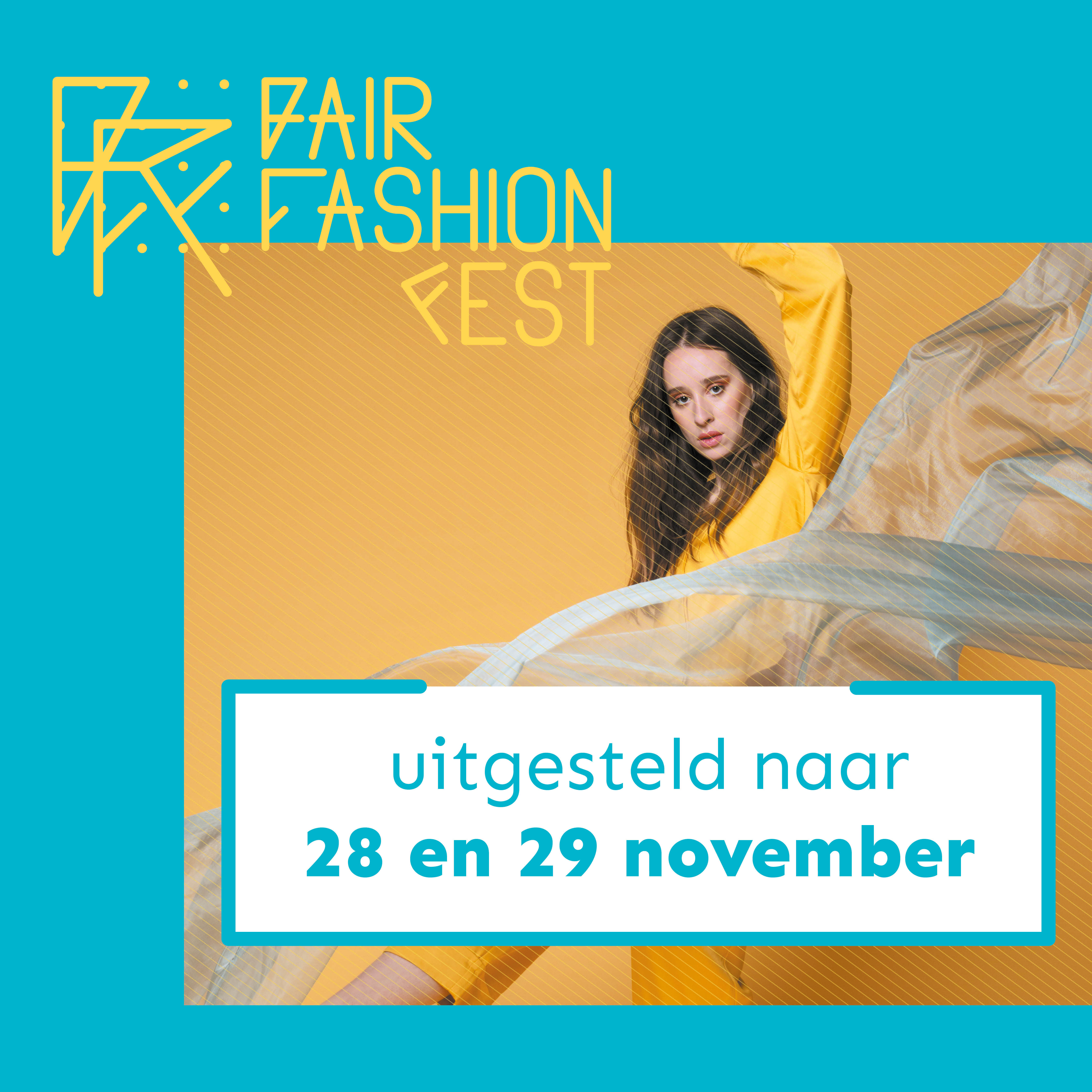 Fair Fashion Fest, Gent, Belgium. Postponed due to the virus...