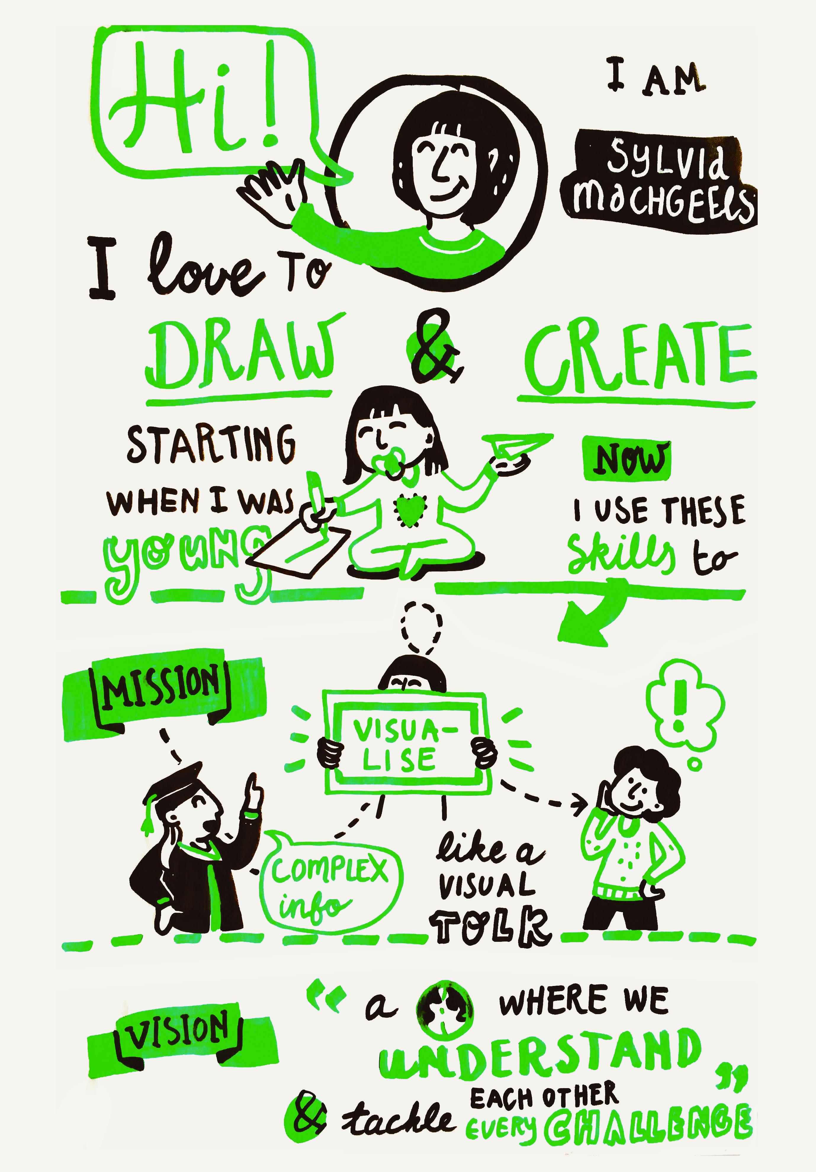 Sylvia Machgeels: visual impact maker