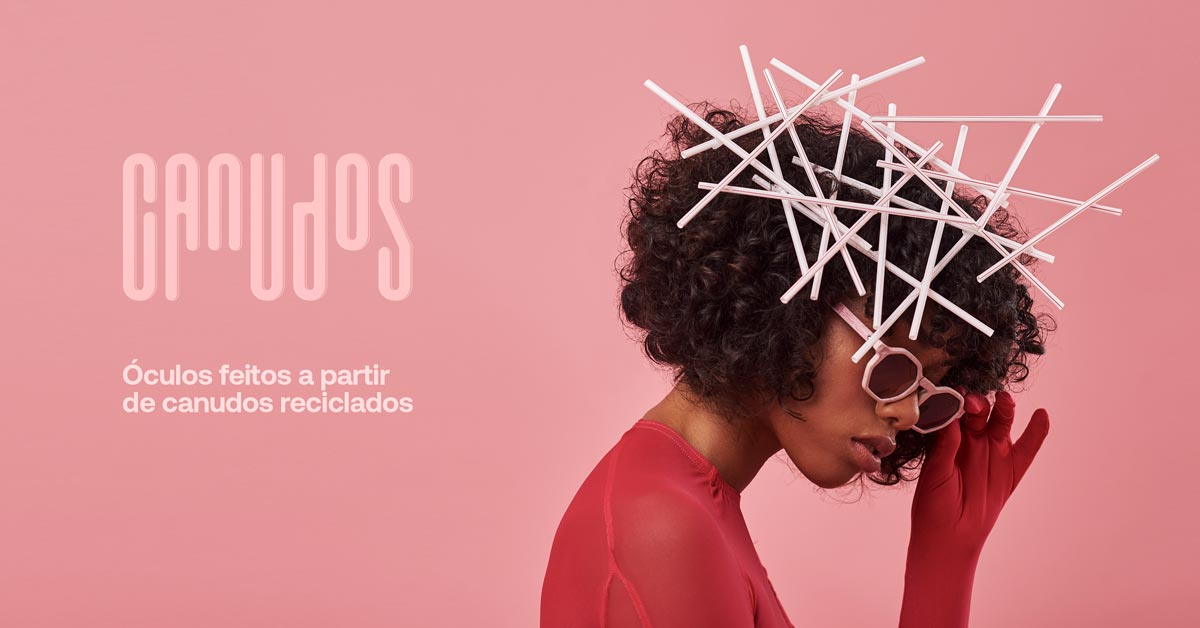 Zerezes, glasses made from recycled straws