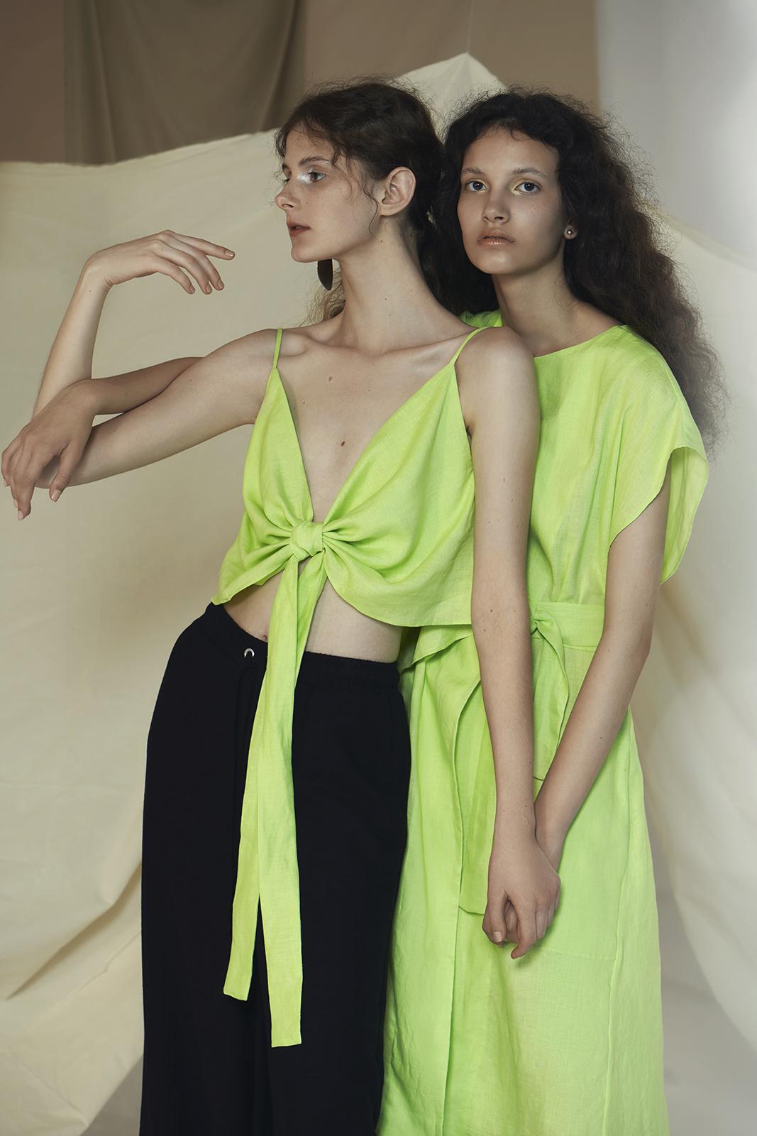 RGLOOR, marca de moda de luxo sustentável e resíduo zero