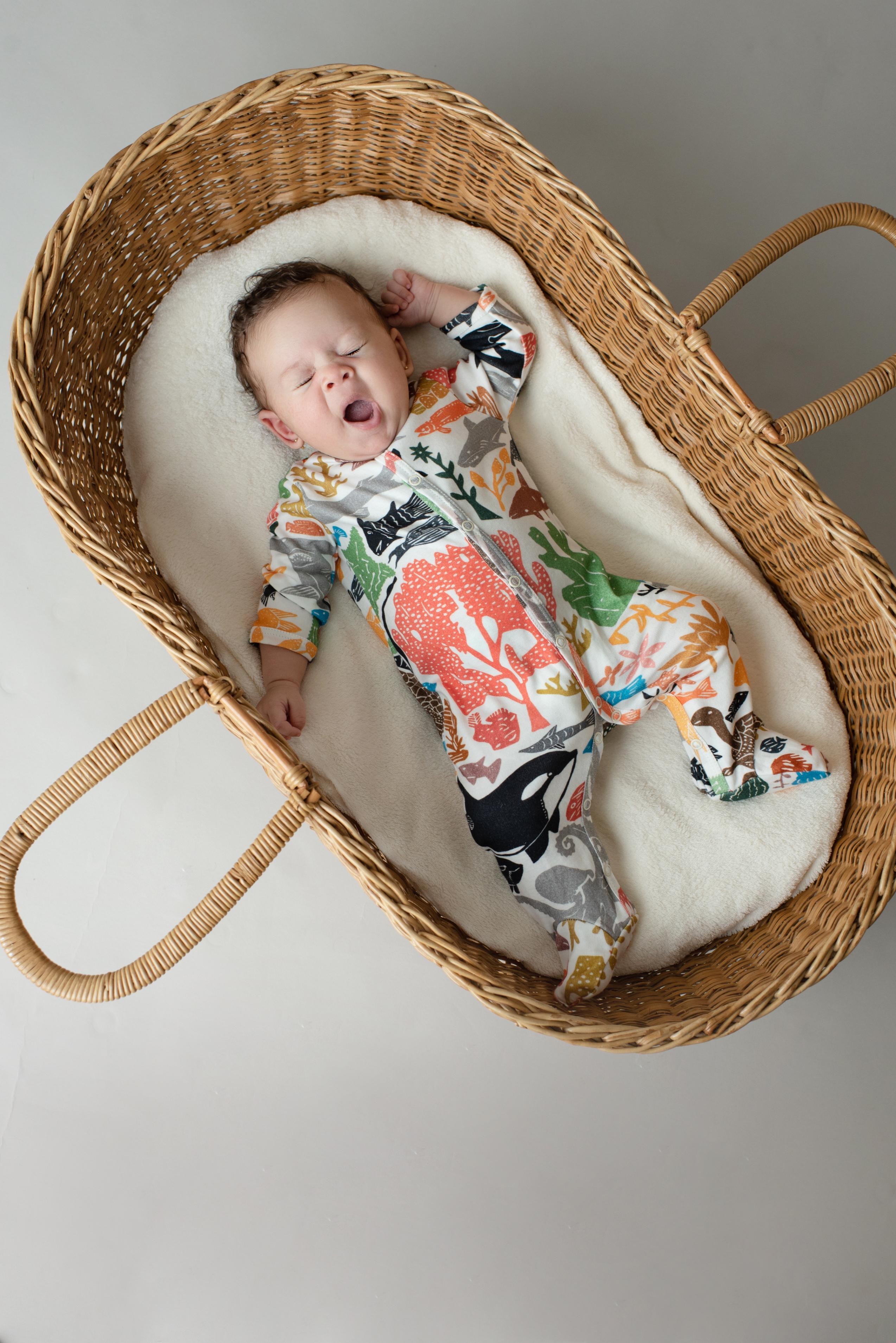 Timirim, moda ética para bebês, feita no Brasil, com sotaque francês. Coleção Oceanos // Ethical fashion for babies