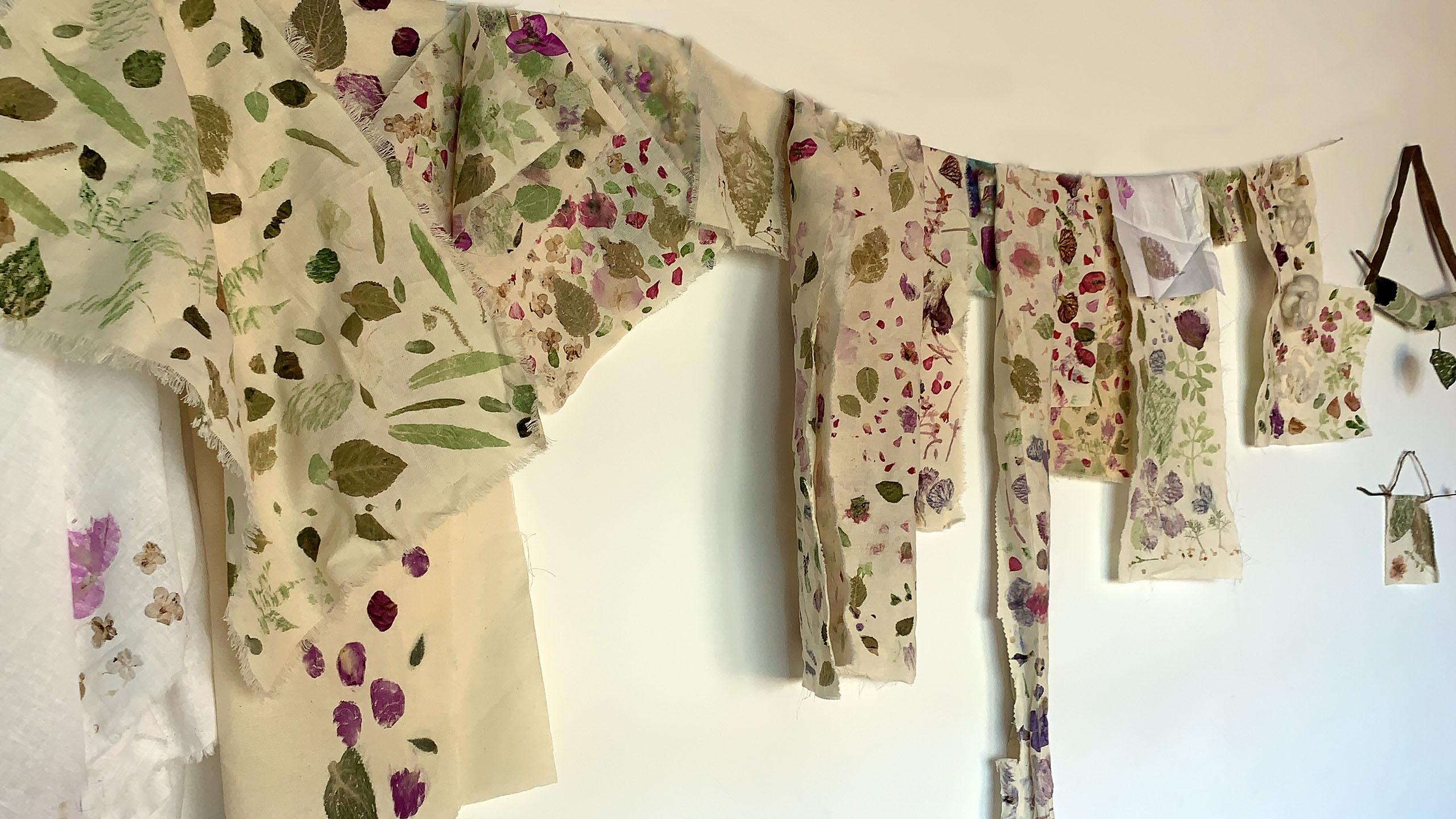 The Flowerpunchers, impressão botânica, botanic printing