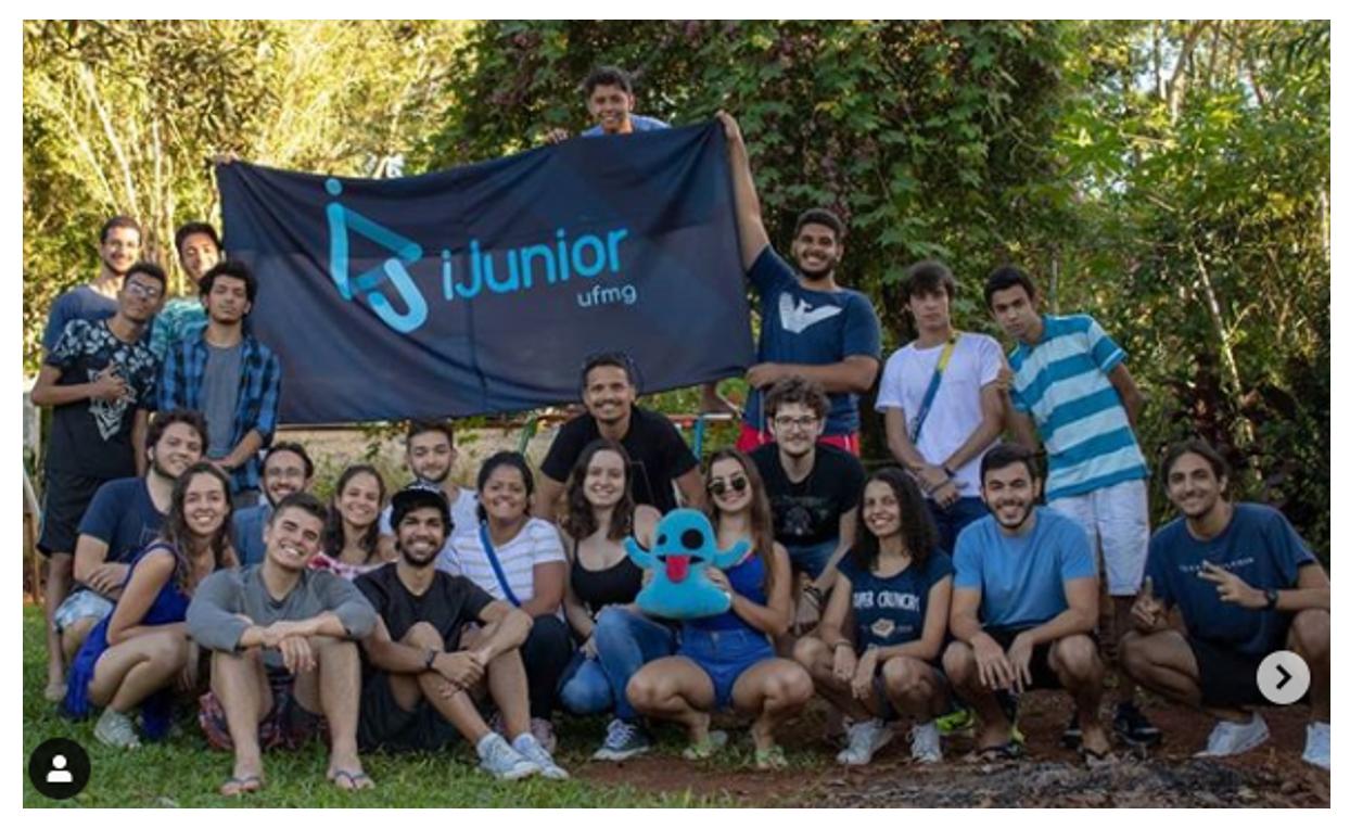 Equipe de jovens desenvolvedores da Empresa de Informática Júnior da UFMG, a iJunior