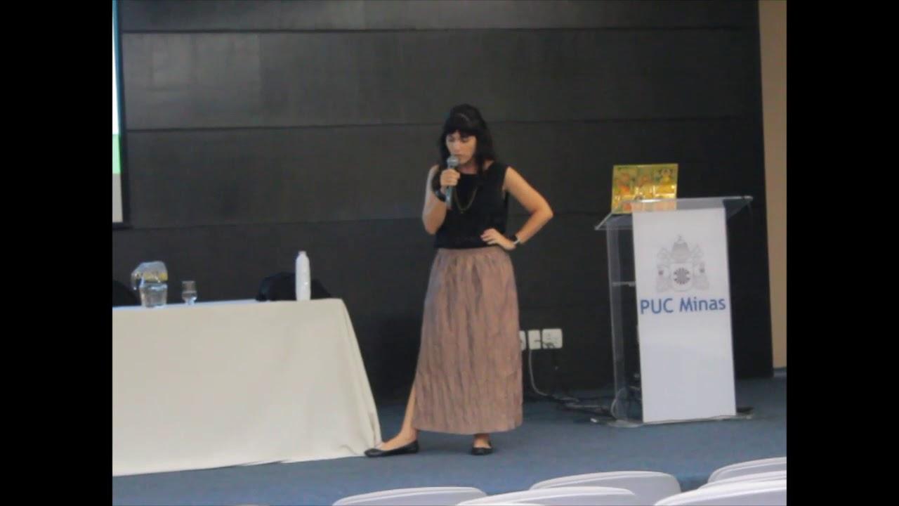 Luciana Duarte, palestra sobre moda sustentável e outros projetos no curso de Relações Internacionais da PUC Minas, Coração Eucarístico, Belo Horizonte