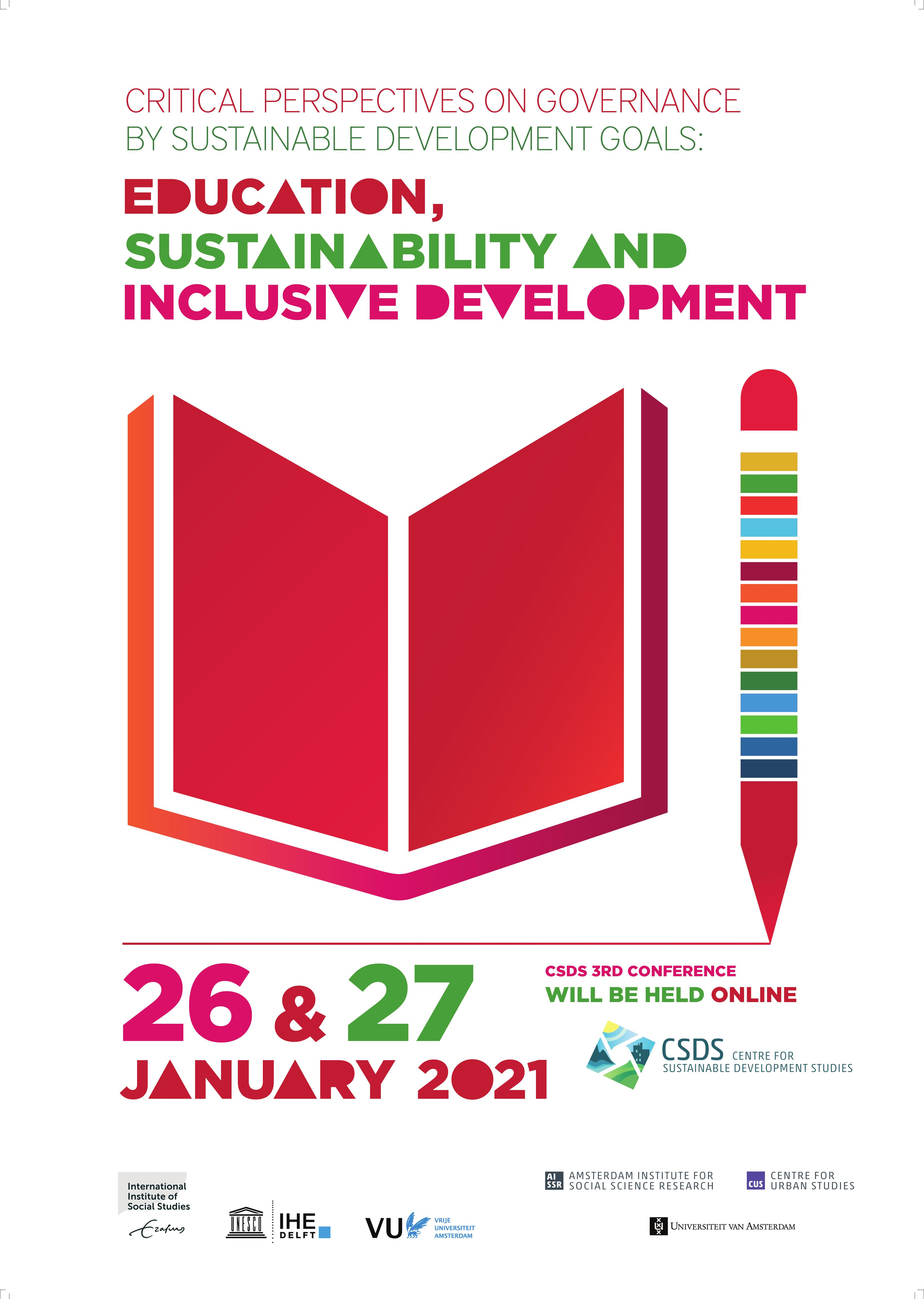 Conference on Critical Perspectives on Governance by Sustainable Development Goals