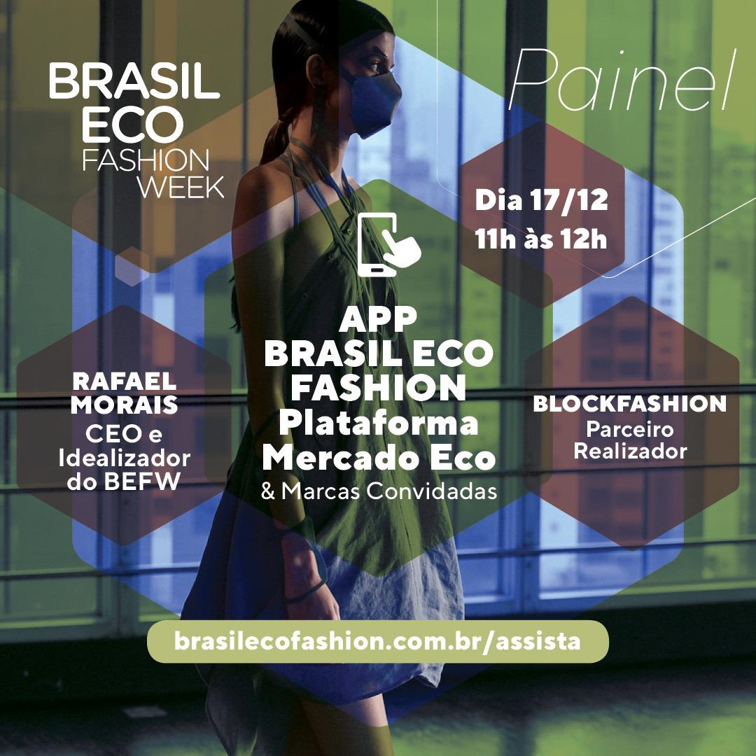 App Brasil Eco Fashion - Plataforma Mercado Eco e marcas convidadas - Brasil Eco Fashion Week